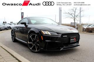 Used 2018 Audi TT RS Coupé quattro + Black Optics Package for sale in Whitby, ON