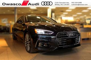 Used 2018 Audi A5 Sportback Technik + Drivers Asistance Pkg for sale in Whitby, ON