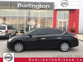 Used 2013 Nissan Sentra SV, NISSAN CANADA EXTENDED WARRANTY ! for sale in Burlington, ON