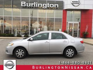 Used 2010 Toyota Corolla CE, AUTO, AIR, PL, PM, INC. SNOWS ! for sale in Burlington, ON