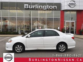 Used 2008 Toyota Corolla Sport, MOONROOF, ALLOYS for sale in Burlington, ON
