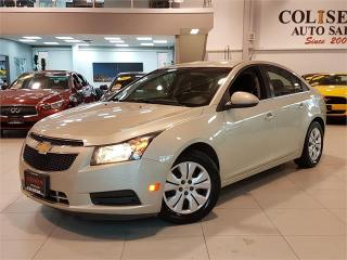 Used 2014 Chevrolet Cruze LT-AUTOMATIC-BLUETOOTH-FACTORY WARRANTY-ONLY 60KM for sale in York, ON