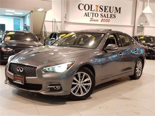 Used 2014 Infiniti Q50 PREMIUM-AWD-NAVIGATION-CAMER-LOADED for sale in York, ON