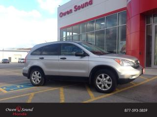 Used 2010 Honda CR-V LX for sale in Owen Sound, ON