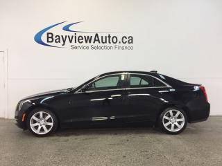 Used 2015 Cadillac ATS - 2.5L|ALLOYS|HTD LTHR|BOSE|BLUTOOTH|DUAL CLIMATE! for sale in Belleville, ON