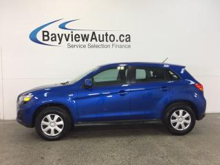 Used 2015 Mitsubishi RVR - 5 SPEED! 2.0L! HTD STS! CRUISE! PWR GROUP! for sale in Belleville, ON
