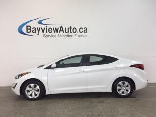 Used 2016 Hyundai Elantra L- 1.8L! AUTO! A/C! ECO MODE! 10,000 KM! for sale in Belleville, ON