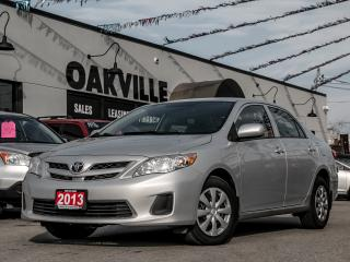 Used 2013 Toyota Corolla CE for sale in Oakville, ON