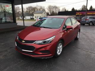 Used 2017 Chevrolet Cruze LT Auto Sunroof/Remote Start for sale in Brantford, ON