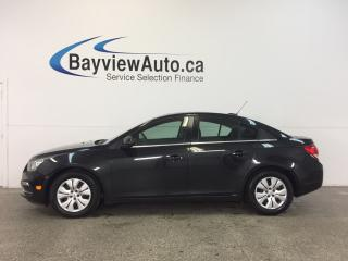 Used 2016 Chevrolet Cruze LT- TURBO|ROOF|REM STRT|REV CAM|PIONEER|MY LINK! for sale in Belleville, ON
