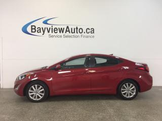 Used 2016 Hyundai Elantra SPORT- 1.8L|SUNROOF|A/C|REV CAM|BLUETOOTH|CRUISE! for sale in Belleville, ON