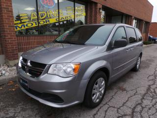Used 2014 Dodge Grand Caravan SE/SXT Stow N' Go, 7 Passenger for sale in Woodbridge, ON