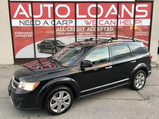 Used 2012 Dodge Journey R/T-ALL CREDIT ACCEPTED for sale in Scarborough, ON