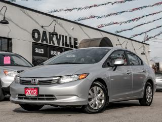 Used 2012 Honda Civic LX for sale in Oakville, ON