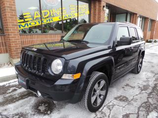 Used 2016 Jeep Patriot Sport/North High Altitude, Leather, sunroof for sale in Woodbridge, ON