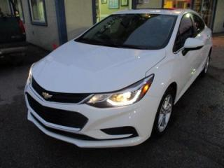 Used 2017 Chevrolet Cruze LOADED LT EDITION 5 PASSENGER 1.4L - TURBO.. HEATED SEATS.. TOUCH SCREEN.. BLUETOOTH.. BACK-UP CAMERA.. FACTORY WARRANTY.. for sale in Bradford, ON