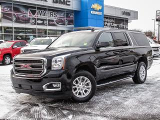Used 2017 GMC Yukon XL Yukon XL SLT 4x4, Navigation, DVD Blueray, Sunroof, Heted/ ventillated leather for sale in Ottawa, ON