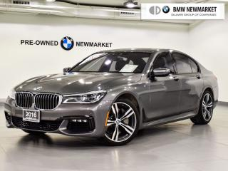 Used 2016 BMW 750i xDrive for sale in Newmarket, ON