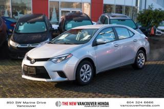 Used 2014 Toyota Corolla 4-door Sedan LE CVTi-S for sale in Vancouver, BC