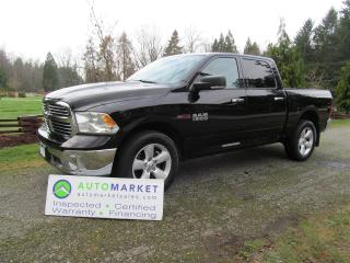 Used 2014 Dodge Ram 1500 ECO DIESEL, SLT Crew, 4X4, INSP, WARR for sale in Surrey, BC