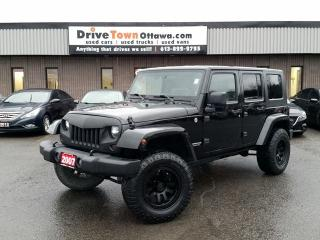 Used 2007 Jeep Wrangler SPORT-X UNLIMITED 4X4 **LIFTED** for sale in Gloucester, ON