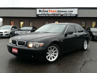 Used 2004 BMW 7 Series 745i **EXTRA CLEAN** for sale in Gloucester, ON