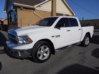 Used 2013 Dodge Ram 1500 SLT Crew Cab 4X4 5.7L HEMI 5.5Ft Box GPS Navi Cert for sale in Etobicoke, ON