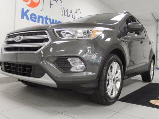 Used 2018 Ford Escape SE 4WD ecoboost with heated power seats and a back up cam so those cold winter days are at least bearable for sale in Edmonton, AB