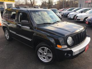 Used 2008 Jeep Patriot LIMITED/ Auto / 4WD / Leather / Sunroof / Foglight for sale in Scarborough, ON