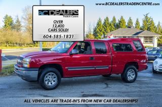 Used 2005 Chevrolet Silverado 1500 LS, 4.8L V8, Extended Cab, Matching Canopy! for sale in Surrey, BC