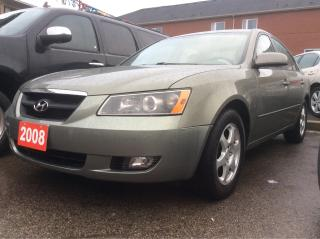 Used 2008 Hyundai Sonata Auto GL/SUNROOF/POWER OPS/CLEAN CAR PROOF for sale in Scarborough, ON