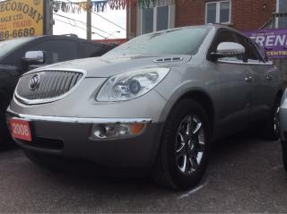 Used 2008 Buick Enclave nav,aux,dual climate,pwr gate,on star,keyless entr for sale in Scarborough, ON