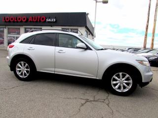 Used 2007 Infiniti FX35 AWD CAMERA SUNROOF LEATHER for sale in Milton, ON