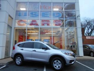 Used 2016 Honda CR-V LX FWD HEATED SEATS WITH 4783KMS for sale in Halifax, NS