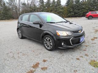 Used 2017 Chevrolet Sonic LT for sale in Beaverton, ON