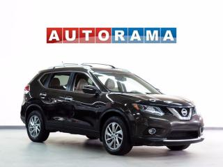 Used 2014 Nissan Rogue SL 4WD NAVIGATION LEATHER SUNROOF BACKUP CAMERA for sale in North York, ON