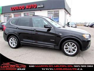 Used 2013 BMW X3 xDrive28i Navigation Camera Certified 2YR Warra for sale in Milton, ON