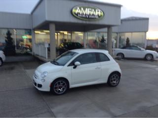 Used 2015 Fiat 500 Sport / NO PAYMENTS FOR 6 MONTHS !! for sale in Tilbury, ON