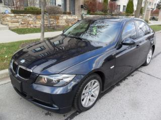 Used 2008 BMW 3 Series 323i, CERTIFIED, NEW TIRES, NO ACCIDENTS for sale in Etobicoke, ON