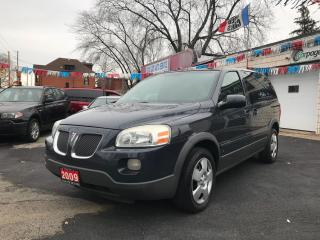 Used 2009 Pontiac Montana REMOTE START! ((CERTIFIED)) for sale in Hamilton, ON