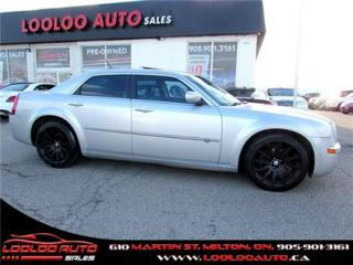 Used 2008 Chrysler 300 SRT DESIGN 5.7L HEMI LEATHER SUNROOF CERTIFIED 2YR WARRANTY for sale in Milton, ON