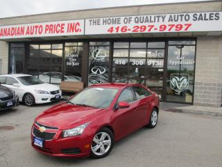 Used 2014 Chevrolet Cruze Diesel-CAMERA-LEATHER-BLUETOOTH-HEATED SEATS- for sale in Scarborough, ON