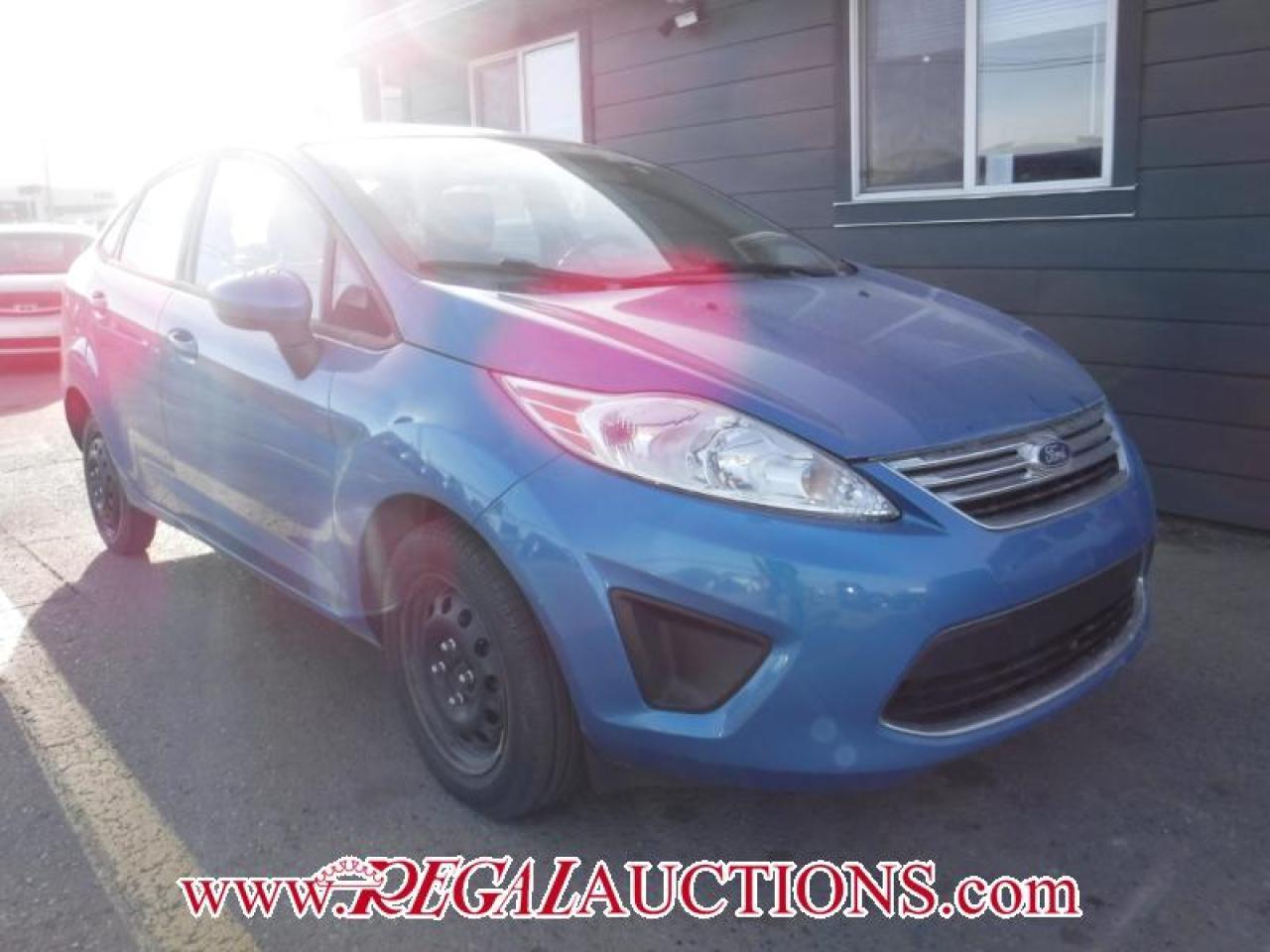 Photo of Blue 2012 Ford FIESTA SE 4D SEDAN