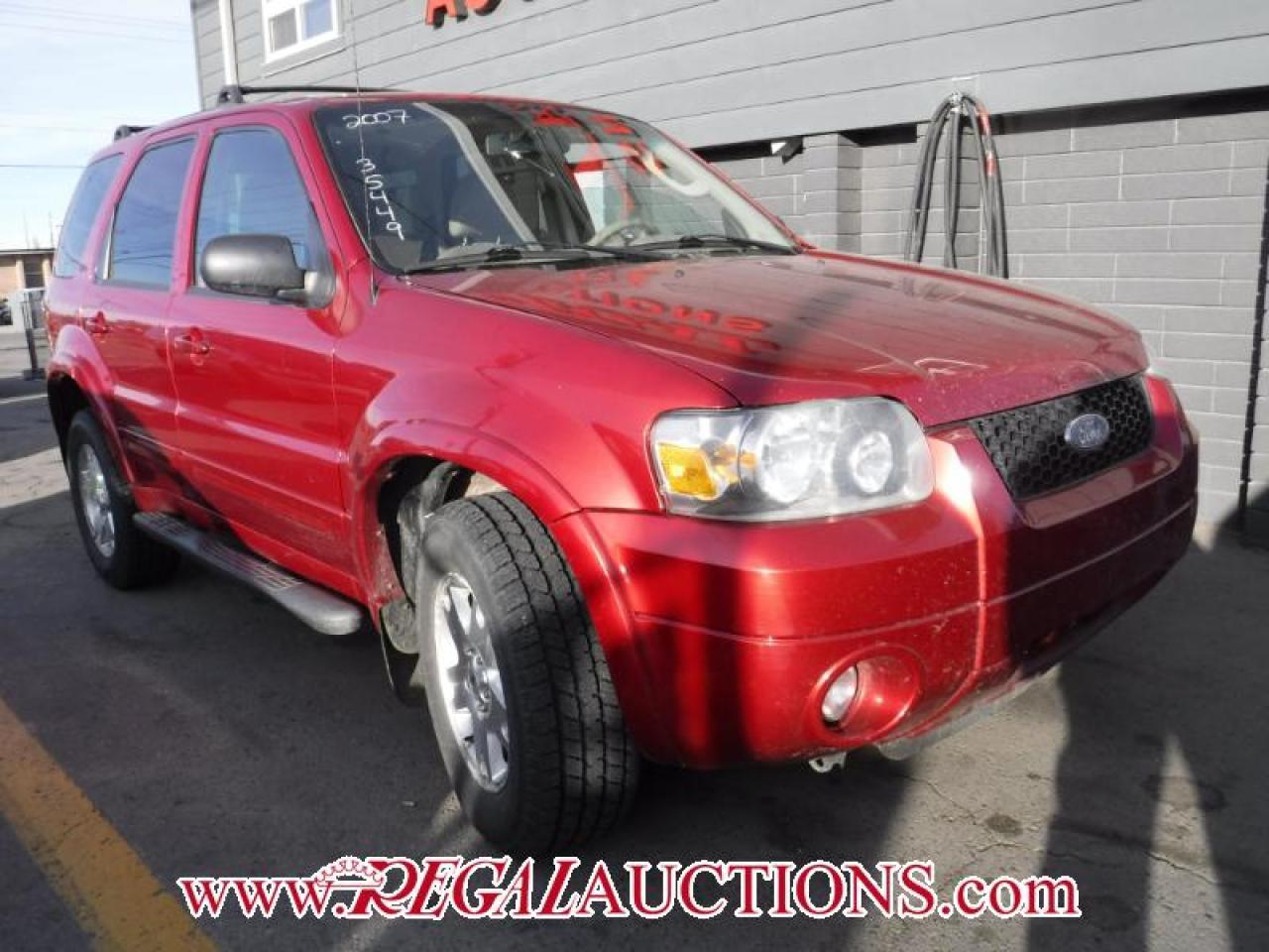 2007 Ford ESCAPE  4D UTILITY 4WD