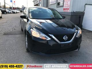 Used 2017 Nissan Sentra 1.8 SV | ONE OWNER | ROOF | HEATED SEATS for sale in London, ON