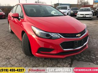 Used 2017 Chevrolet Cruze LT | ONE OWNER | CAM | HEATED SEATS for sale in London, ON
