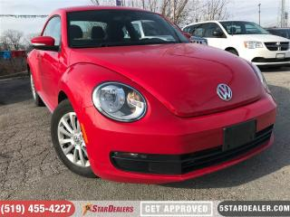 Used 2016 Volkswagen Beetle 1.8 TSI Comfortline | ONE OWNER | CAM | HTD SEATS for sale in London, ON
