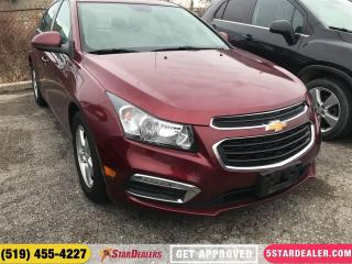 Used 2015 Chevrolet Cruze 2LT | LEATHER | ROOF | CAM | HEATED SEATS for sale in London, ON