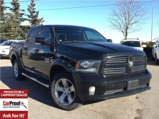 Used 2013 Dodge Ram 1500 *SPORT*CREW*4X4*LEATHER*SUNROOF*8.4 SCREEN* for sale in Mississauga, ON