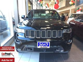 Used 2017 Jeep Grand Cherokee *75TH ANNIVERSARY* PAN ROOF *4 for sale in Mississauga, ON